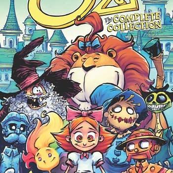 Marvel Comics Complete Oz In Big Paperbacks Instead Of Omnibus