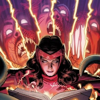 When Marvel Comics Were Publishing a Scarlet Witch Event Darkhold