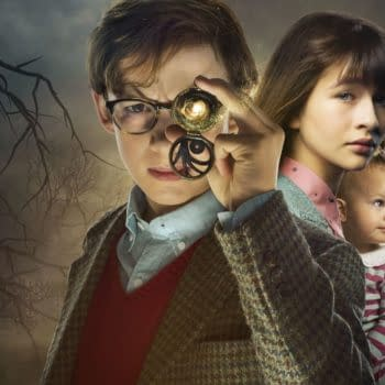 Klaus, Violet, and Sunny Baudelaire. Image Courtesy Netflix