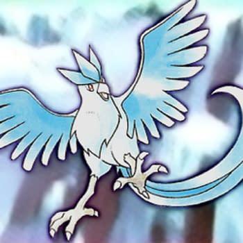Rare Pokémon Articuno Tropical Mega Battle Phone Card On Auction