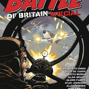 Garth Ennis &#038 Glenn Fabrys Battle Of Britain in Rebellion Solicits