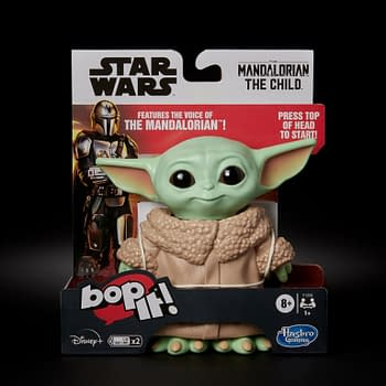 Hasbro Oddly Announces The Mandalorian The Child BOP IT Game