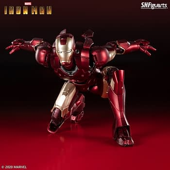 Iron Man Mark 3 Coming Soon To S.H. Figuarts with New Figure