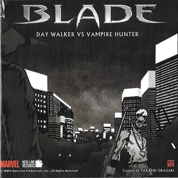 Blade Manga Dojinshi Cover