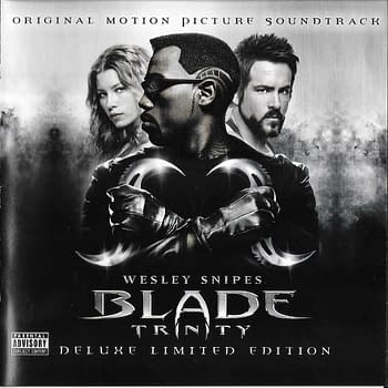 Blade Trinity Deluxe Limited Edition Soundtrack Front Cover