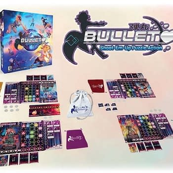 Level 99s Shoot-Em-Up Puzzle Board Game Bullet On Kickstarter