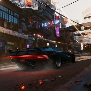 Someone Found An Unused Monorail System In Cyberpunk 2077