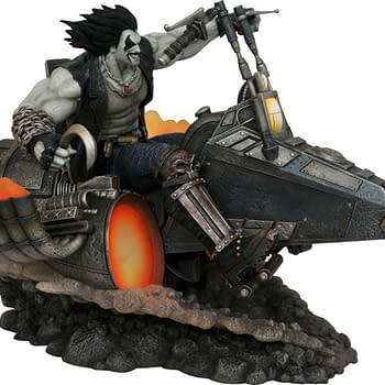 Lobo Superman and Harley Quinn Get New Statues from Diamond Select