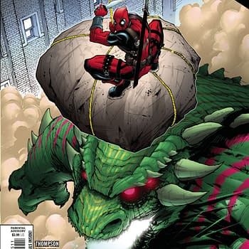 Budding Romance and Senseless Monster Killing in Deadpool #5 [XH]