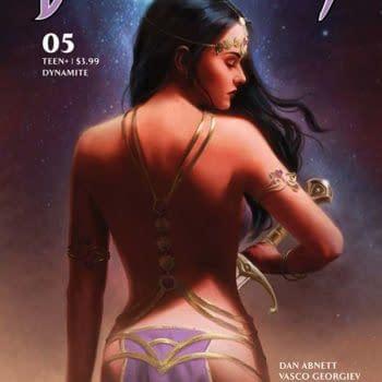 Dan Abnett – Writer's Spidery Commentary on Dejah Thoris #5