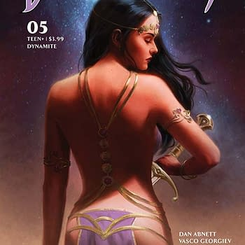 Dan Abnett &#8211 Writers Spidery Commentary on Dejah Thoris #5