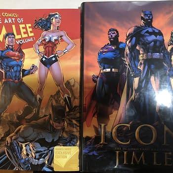 Separated At Birth: Icons Art of Jim Lee vs DC Comics Art of Jim Lee