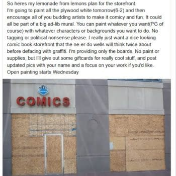 4 More Comic Stores Damaged or Looted During the Protests in the USA