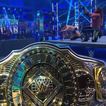 6/12/2020 WWE Smackdown Report Part 2 - And New IC Champion...