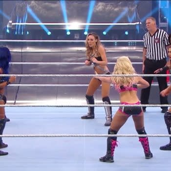 Women's Tag Team Title Triple Threat Match: WWE Backlash Live Report (WWE)