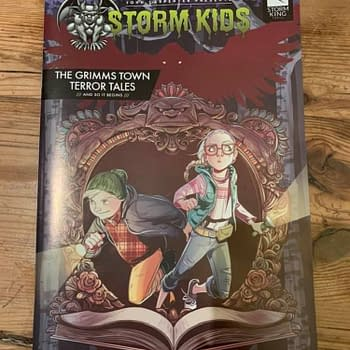 Free Copies of John Carpenter Presents: Storm Kids to Comic Shops