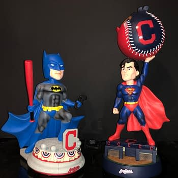 FOCO Hits A Home Run with New DC Superhero MLB Bobbleheads