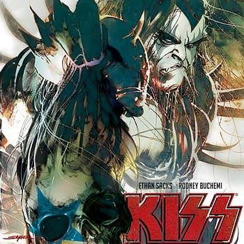 Ethan Sacks Fire Breathing Writers Commentary on Kiss Zombies #5