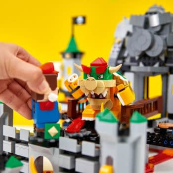 Super Mario Takes on Bowser's Castle with New LEGO Set