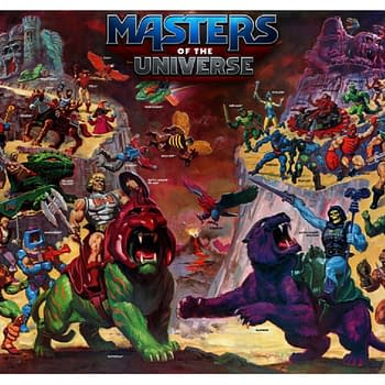 Masters Of The Universe Board Game Announced By CMON
