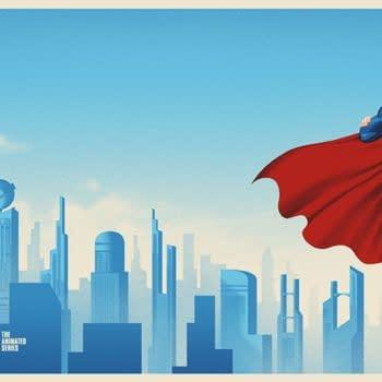 Batman & Superman Animated Series Posters Coming From Mondo Tomorrow
