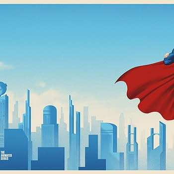 Batman &#038 Superman Animated Series Posters Coming From Mondo Tomorrow