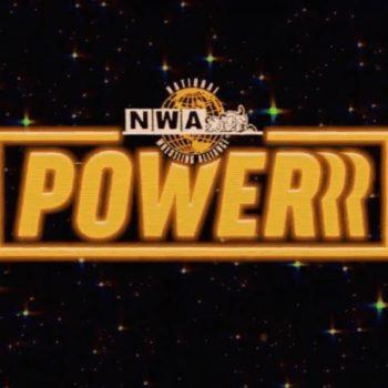 The logo for NWA POWERRR