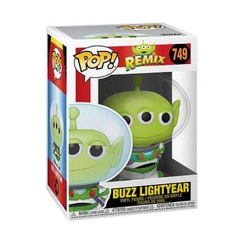 Funko Is Beaming in New Pixar Alien Remix Pop Vinyls