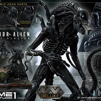 Alien Warrior Is on the Hunt With New Prime 1 Studio Statue