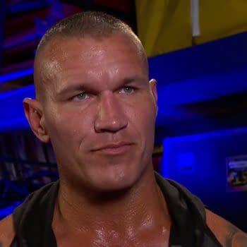 A scene from WWE Monday Night Raw 6/22/20