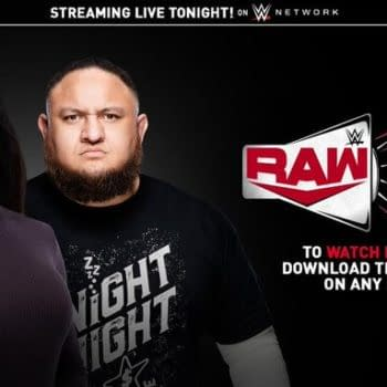 WWE advertises the first new episode of Raw Talk since 2017.