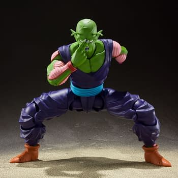 Dragon Ball Z Piccolo Stands His Ground with S.H. Figuarts