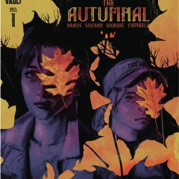 Daniel Kraus Launches Autumnal#1 Vault Comics September 2020 Solicits