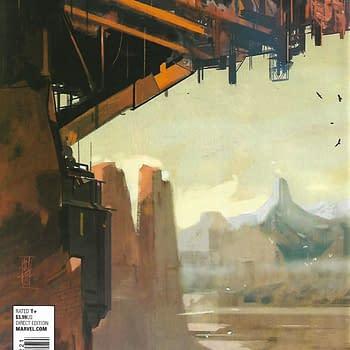 Civil War (Volume 2) #2 1-In-10 Alex Maleev Variant Back Cover
