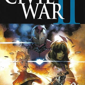 Civil War II #0 Second Print Variant Cover