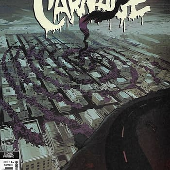 Web Of Venom Cult Of Carnage #1 Second Print Varaint Cover