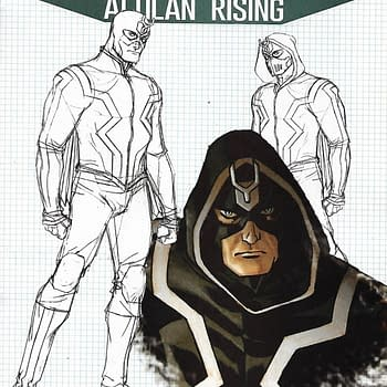 Inhumans Attilan Rising #2 1-In-25 Dave Johnson Design Variant Cover