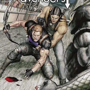 Occupy Avengers #3 Main Cover