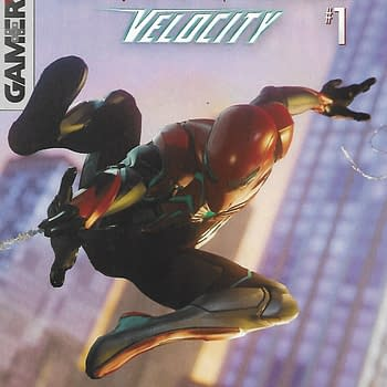 Spider-Man Velocity #1 Second Print Variant Cover