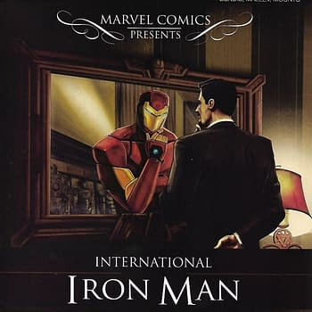 International Iron Man #1 Hip Hope Variant Cover