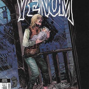 Venom #12 Second Print Variant Cover