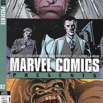 Marvel Comics Presents #2 Second Print Variant Cover