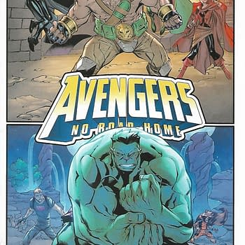 Avengers No Way Home #8 Second Print Variant Cover