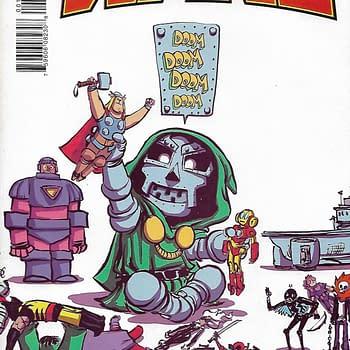 Secret Wars (2015) #1 Skottie Young Variant Cover
