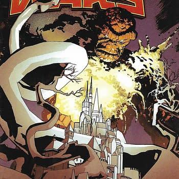 Secret Wars (2015) #7 1-In-20 Tomm Coker Variant Cover