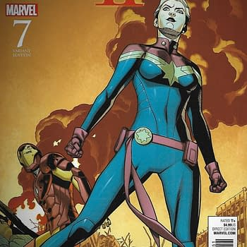 Civil War II #7 1-In-15 Chris Spouse Variant Cover