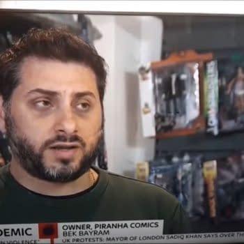 Piranha Comics of Kingston Upon Thames on Sky News