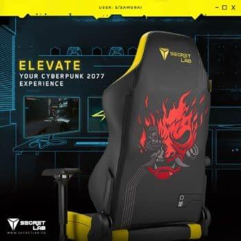 Secretlab Unveils Their New Cyberpunk 2077 Gaming Chair