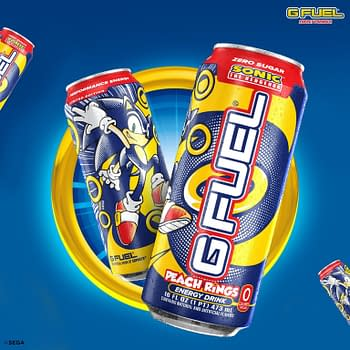 G FUEL &#038 SEGA Come Together For A Sonic The Hedgehog Peach Flavor