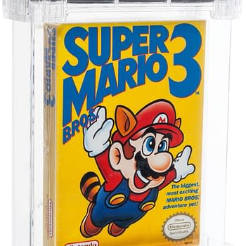 A Left Bros Copy Of Super Mario Bros. 3 Is Up For Sale